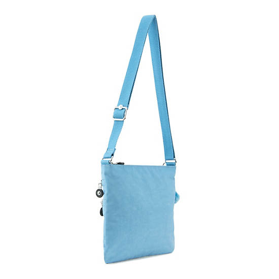 Abner Crossbody Bag,Blue Grey,large
