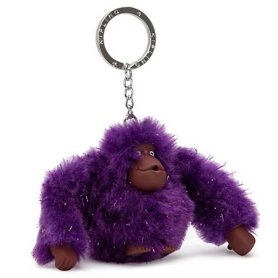Mom Monkey Keychain,Multi,large