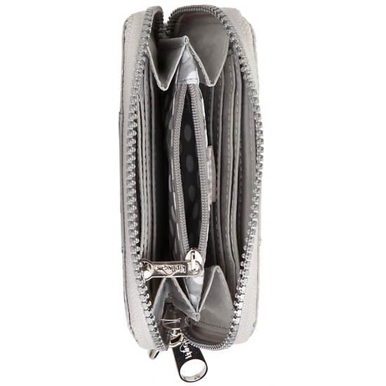 Essa Wristlet Wallet,Silversnake,large