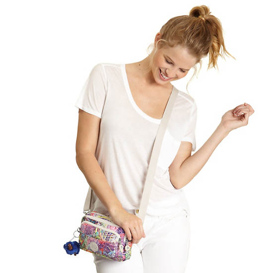 Merryl Printed Convertible Bag,Island Hop,large
