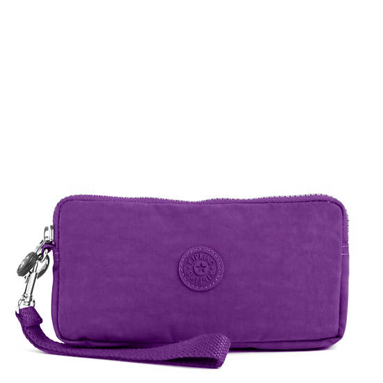 Bernard Wristlet,Tile Purple,large