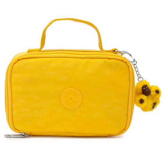 Mila Small Pencil Case,Jicama Yellow,large