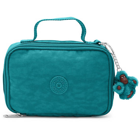 Mila Small Pencil Case,Paradise Green,large