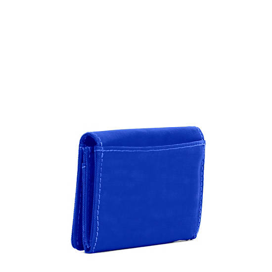 Clea Snap Wallet,Glass Bottom Blue,large