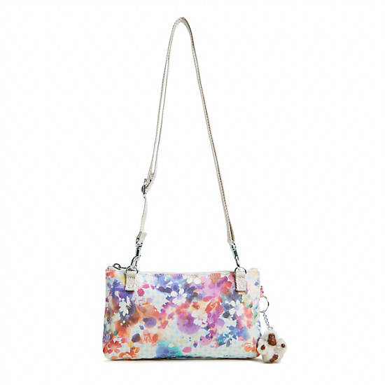 Laurie Printed Crossbody Bag,Garden Happy,large