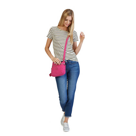 Emmylou Crossbody Bag,Blue Grey,large