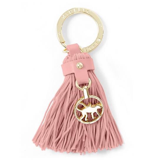 Tassel Key Fob,Soft Pink,large