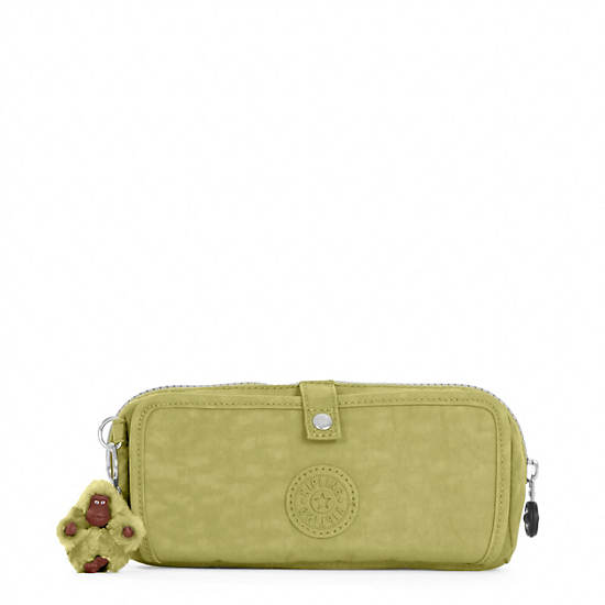 Wolfe Roll-Up Pencil-Makeup Pouch,Pine Grove,large