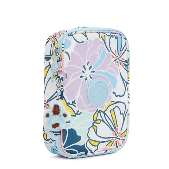 100 Pens Printed Case,Hello Spring,large