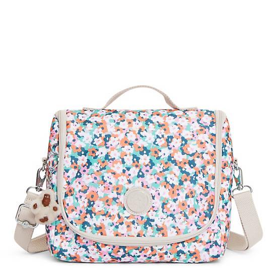 Kichirou Printed Lunch Bag,Meadow Flower Pink,large
