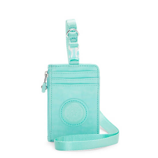 Leroy Lanyard ID Holder,Fresh Teal,large