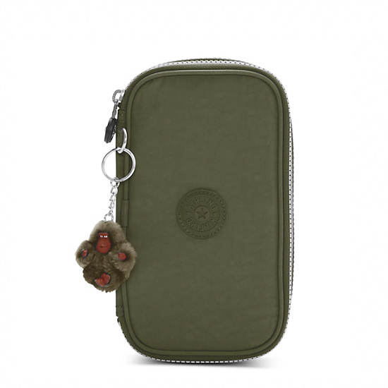 50 Pens Case,Jaded Green,large