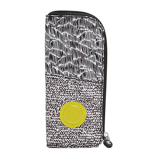 Pinta Printed Pencil Case,Geo Print Mix,large
