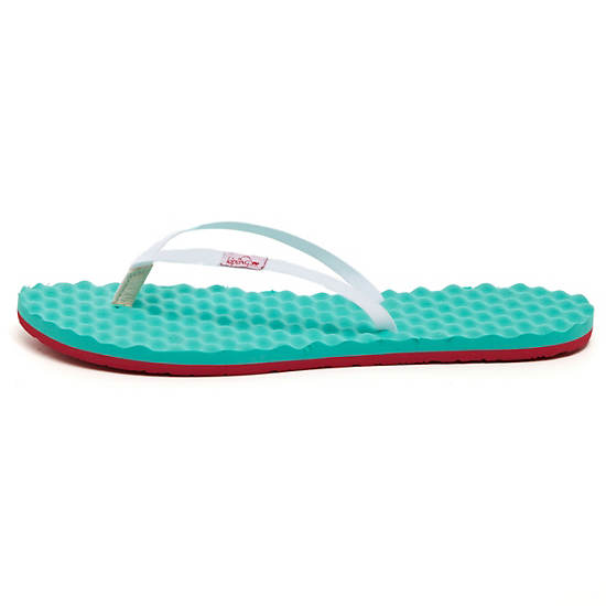 FLIP FLOP MASSAGE SMALL,Turq Blue,large