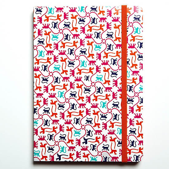 Kipling Notebook,Monkey Mania,large