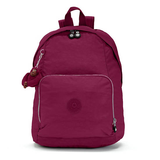 Ridge Backpack,Deep Red,large