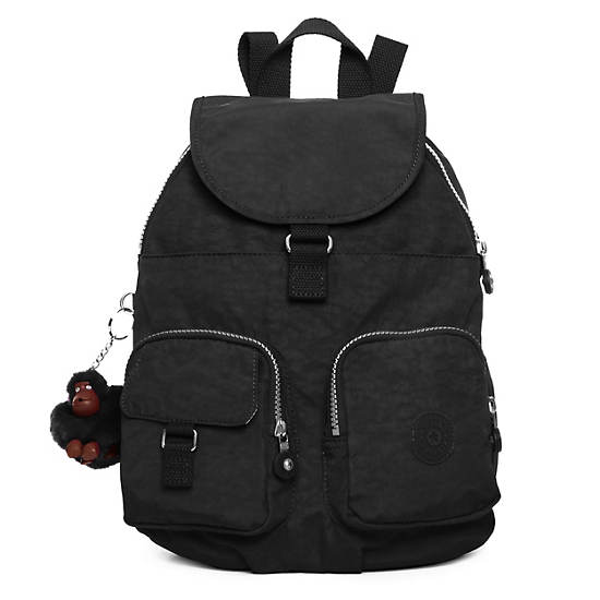 Firefly Small Backpack,Black,large
