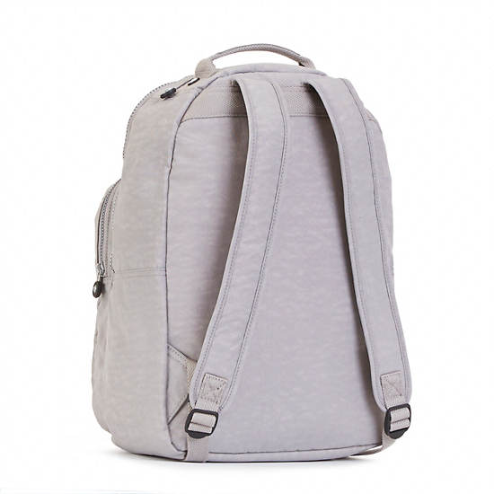 Seoul Large Laptop Backpack,Slate Grey,large