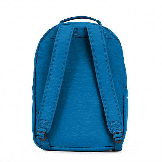 Seoul Large Laptop Backpack,Blue Crab,large