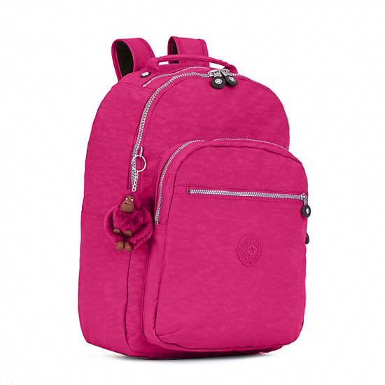 Seoul Large Laptop Backpack,Very Berry,large