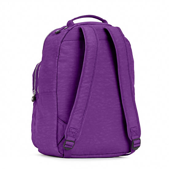 Seoul Large Laptop Backpack,Tile Purple,large
