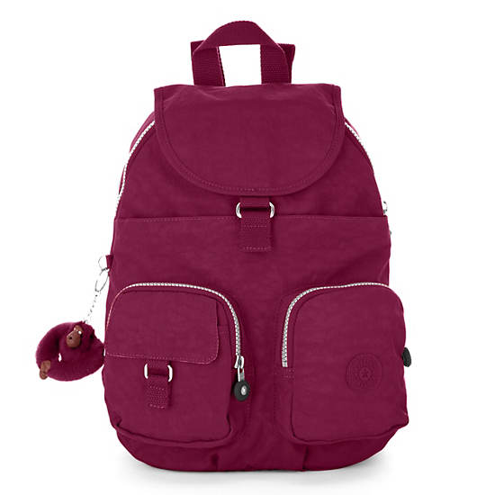Firefly Small Backpack,Deep Red,large