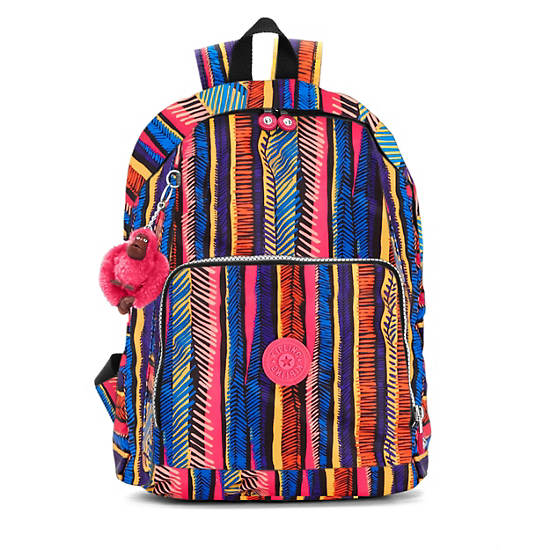 Ridge Print Backpack,Neonmarker,large
