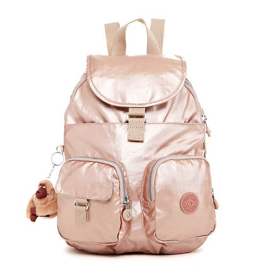 Firefly Small Backpack,Rose Gold,large