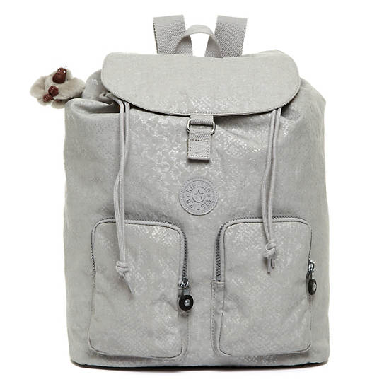 Raychel Backpack,Silversnake,large