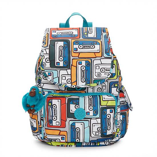 Ravier Medium Printed Backpack,Bird Watching,large