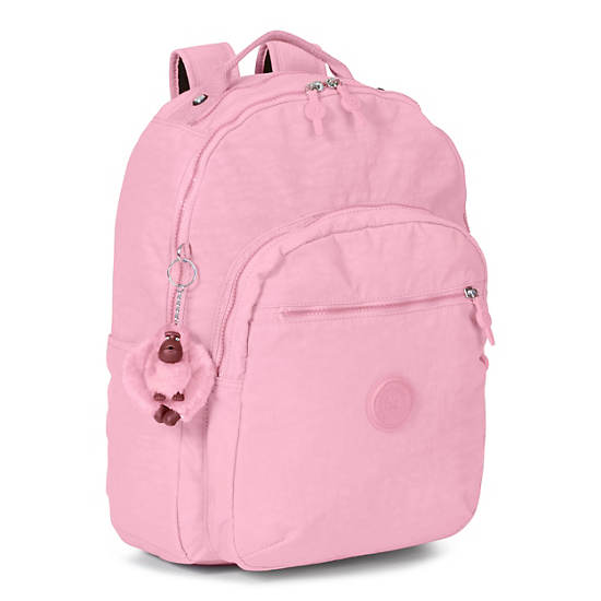 Seoul Large Laptop Backpack,Scallop Pink,large