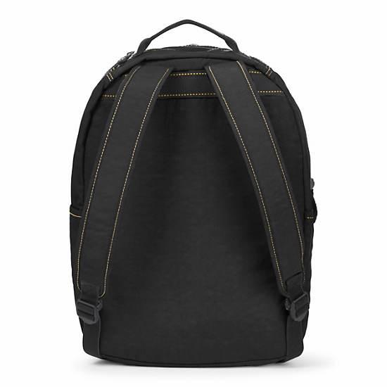 Seoul Large Vintage Laptop Backpack,Black,large