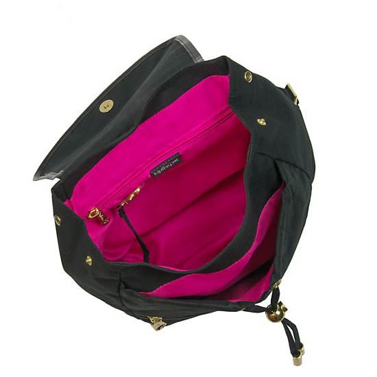 Claudette Small Backpack,Black Crosshatch,large