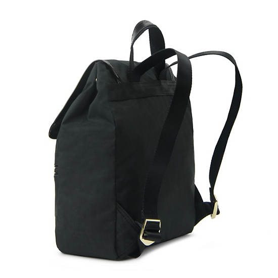 Claudette Small Backpack,Black Crosshatch,large