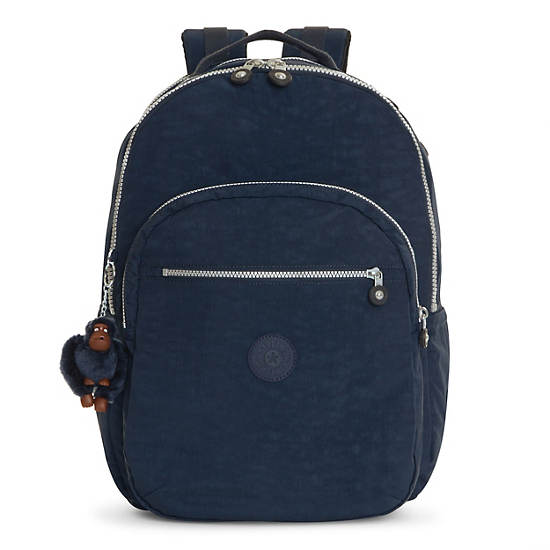 Seoul Extra Large Laptop Backpack - True Blue | Kipling