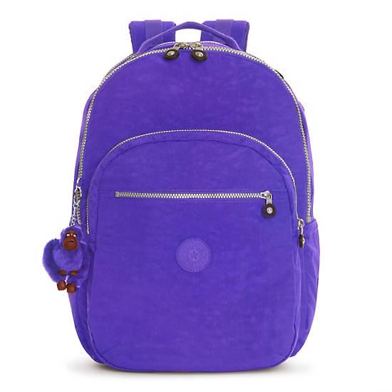 Seoul Extra Large Laptop Backpack - Sapphire | Kipling