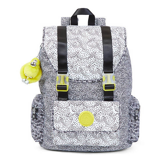 Siggy Large Printed Laptop Backpack,Geo Print Mix,large
