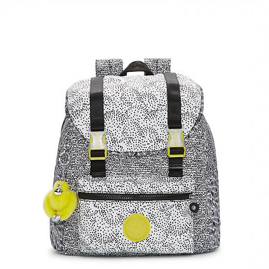 Siggy Small Printed Backpack,Geo Print Mix,large