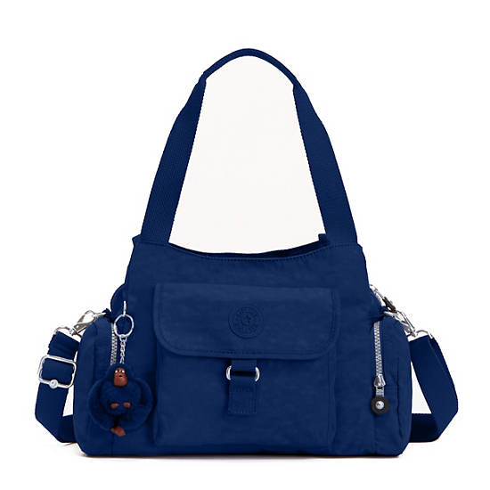 Felix Large Handbag,Ink Blue,large