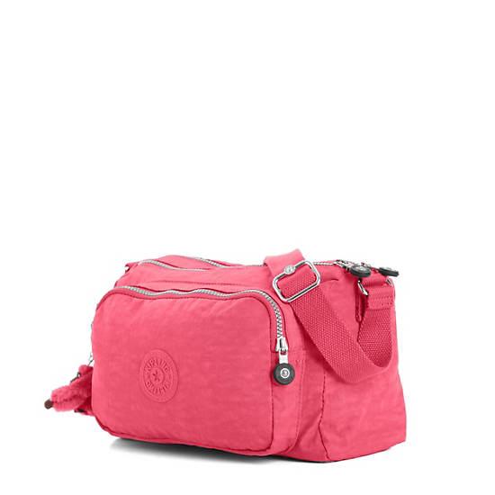 Reth Crossbody Bag,Vibrant Pink,large