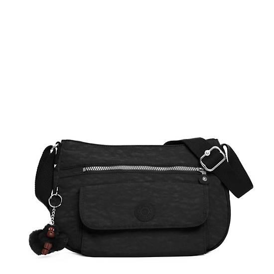 Syro Crossbody Bag,Black,large
