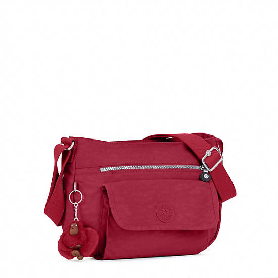 Syro Crossbody Bag,Scarlet,large
