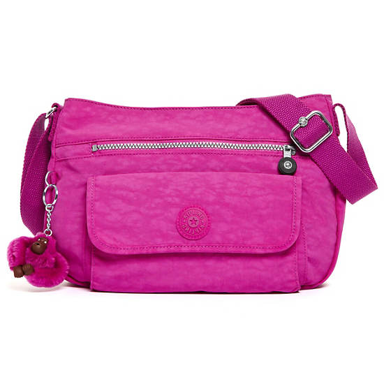 Syro Crossbody Bag,Pink Orchid,large