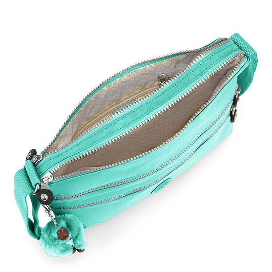 Alvar Crossbody Bag,Fresh Teal,large