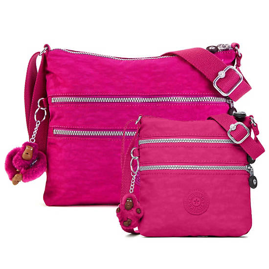Alvar Crossbody Bag,Very Berry,large