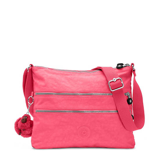 Alvar Crossbody Bag,Vibrant Pink,large
