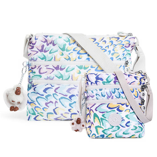 Alvar Printed Crossbody Bag,Printed Dream,large