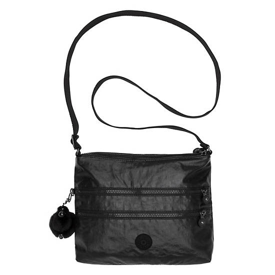 Alvar Crossbody Bag,Lacquer Black,large