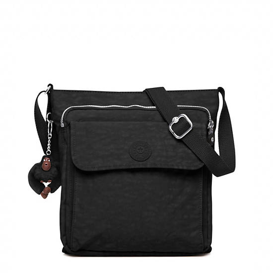 Machida Crossbody Bag,Black,large