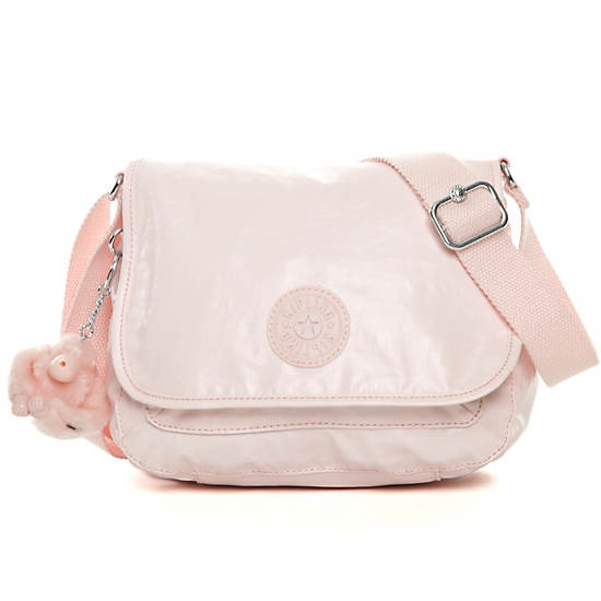 Maceio Crossbody Bag,Pearlized Sweet Pink,large